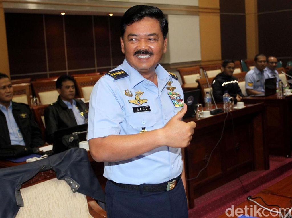 Komisi I: Usai Marsekal Hadi Dilantik, Dilanjutkan Sertijab Panglima