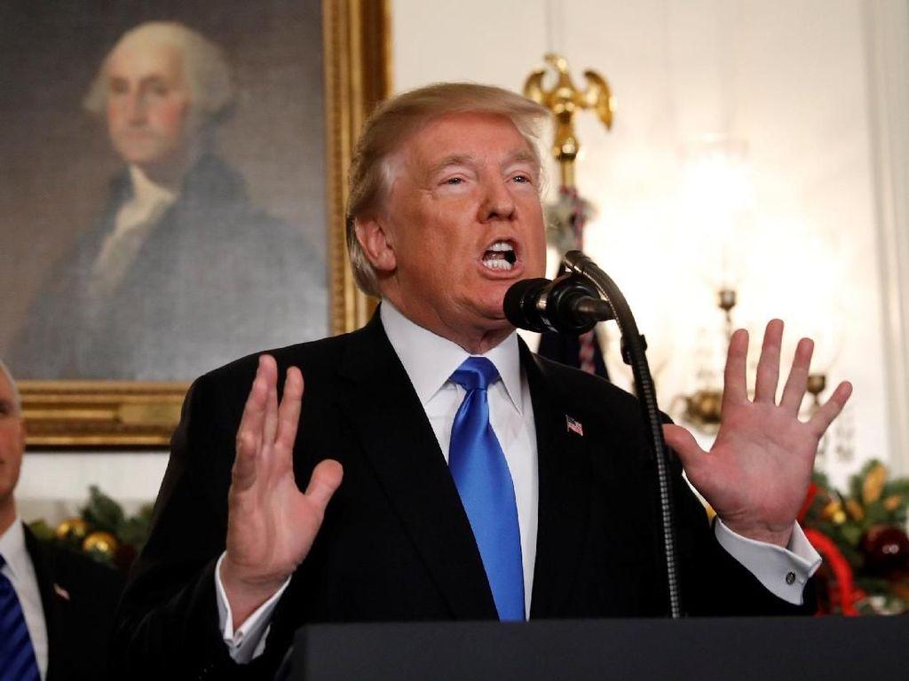 Sebut Trump Lansia Pikun, Korut Kecam Keputusan AS Soal Yerusalem