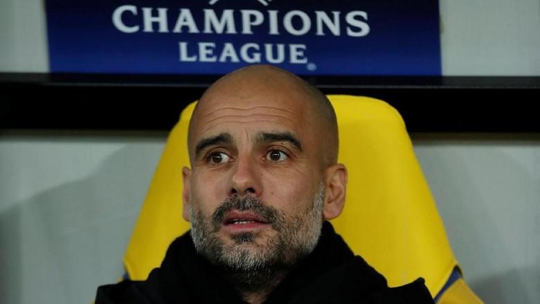 Kekalahan City Tandai Laga ke-100 Guardiola di Liga Champions