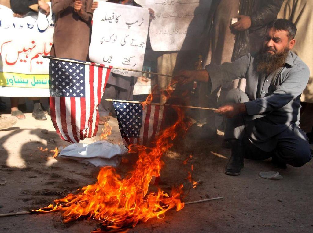 Beragam Kecaman dan Protes untuk Trump Soal Yerusalem