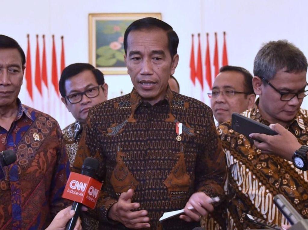 Jokowi Ingin Publik Pisahkan Persepsi Politik dan Ekonomi