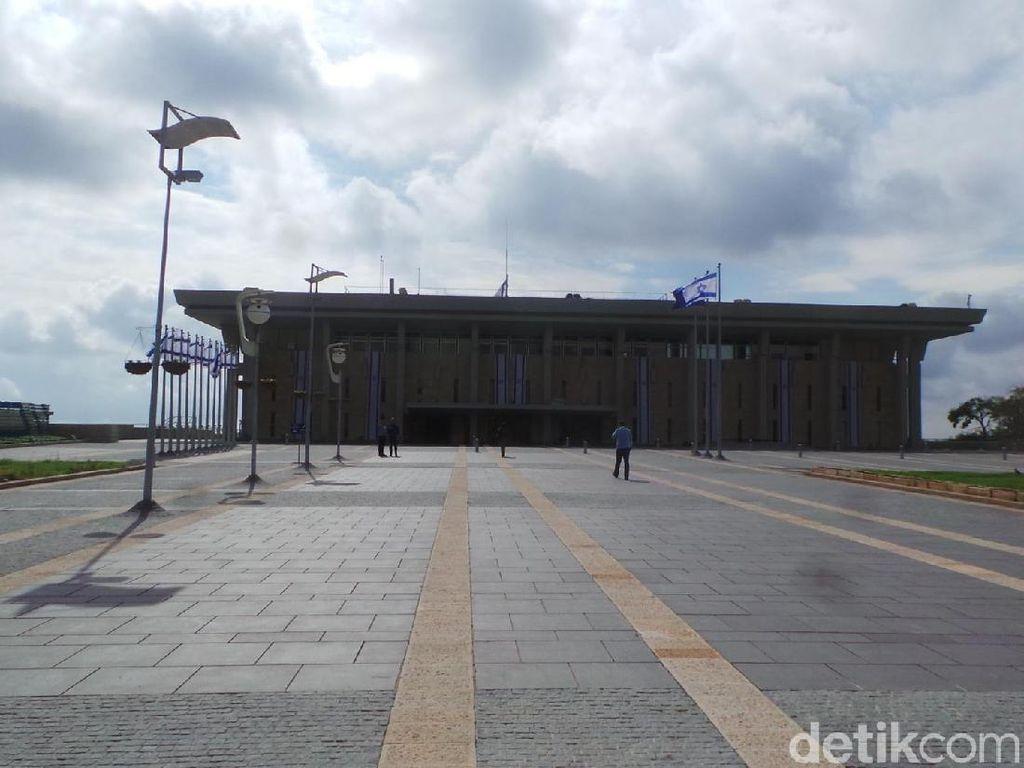 Foto: Kantor Parlemen Israel di Yerusalem