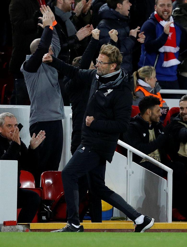 Foto: Liverpool Pesta Gol ke Gawang Spartak Moskow