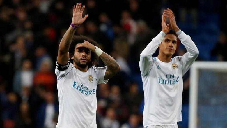 Varane Cedera, Madrid Krisis Bek