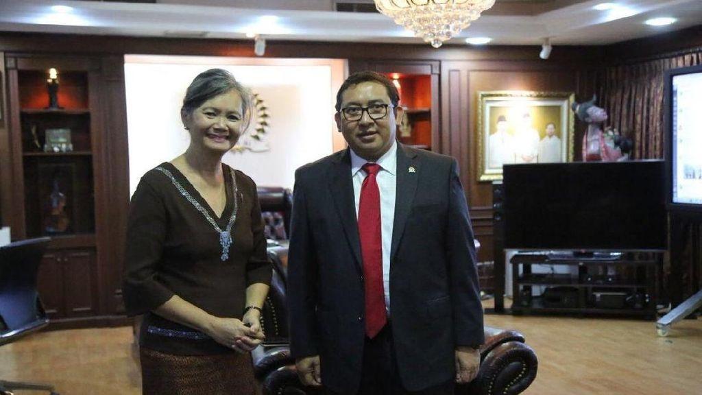 Krisis Politik, Anggota Parlemen Kamboja Ini Mengadu ke Fadli Zon