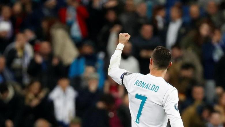 Gol Ronaldo di Fase Grup Setara Jumlah Gol Barcelona