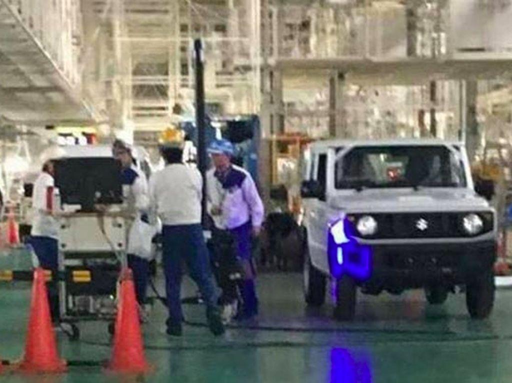 Bocor! Suzuki Produksi Jimny Terbaru, Ini Bocorannya