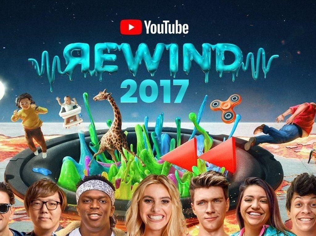 Demian Aditya Sampai Via Vallen Merajai YouTube di 2017