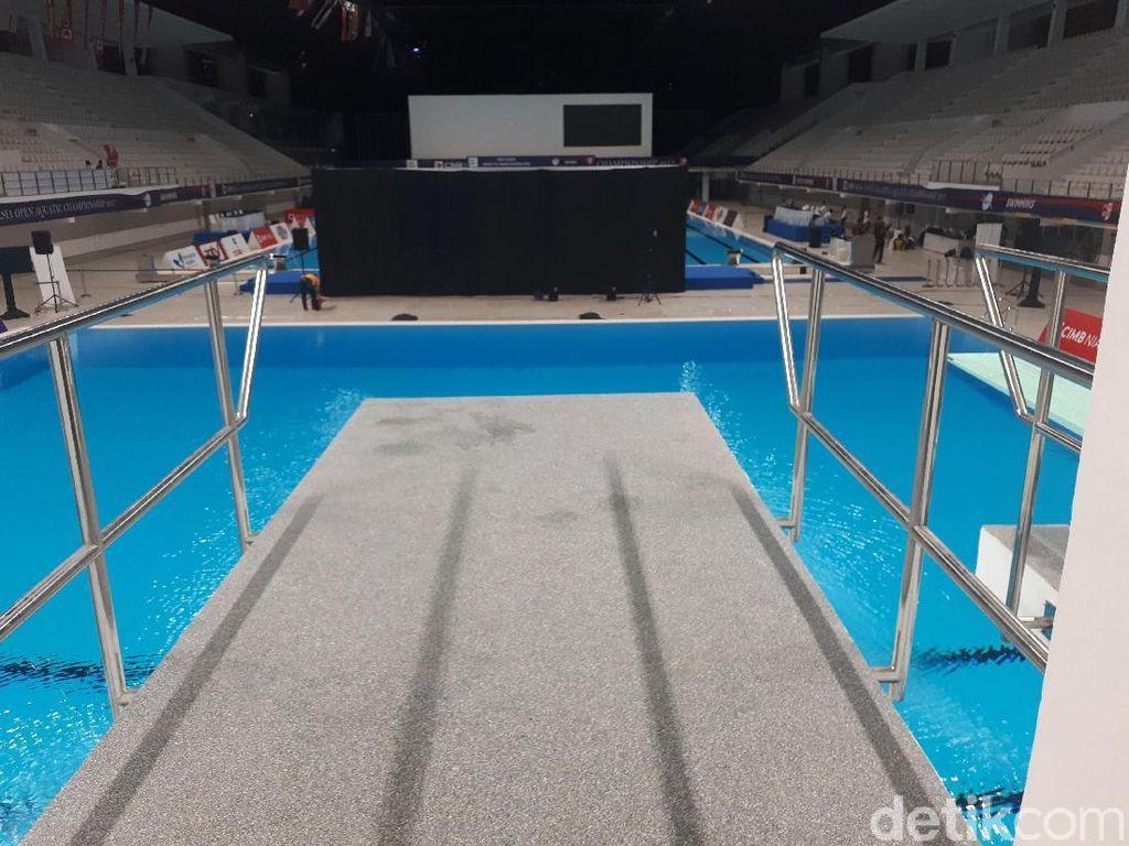 Stadion Akuatik GBK Sudah Sesuai Standar, tapi Masukan Akan Tetap Ditampung