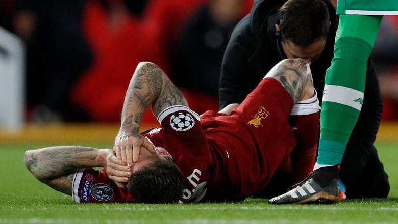 Cedera, Moreno Mungkin Absen di Derby Merseyside