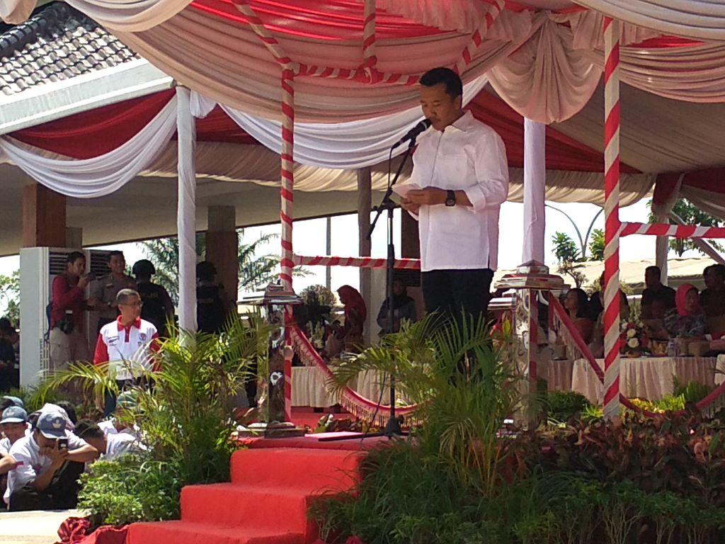 Menpora Berterima Kasih Atas Terselenggaranya Kirab Pemuda Nusantara