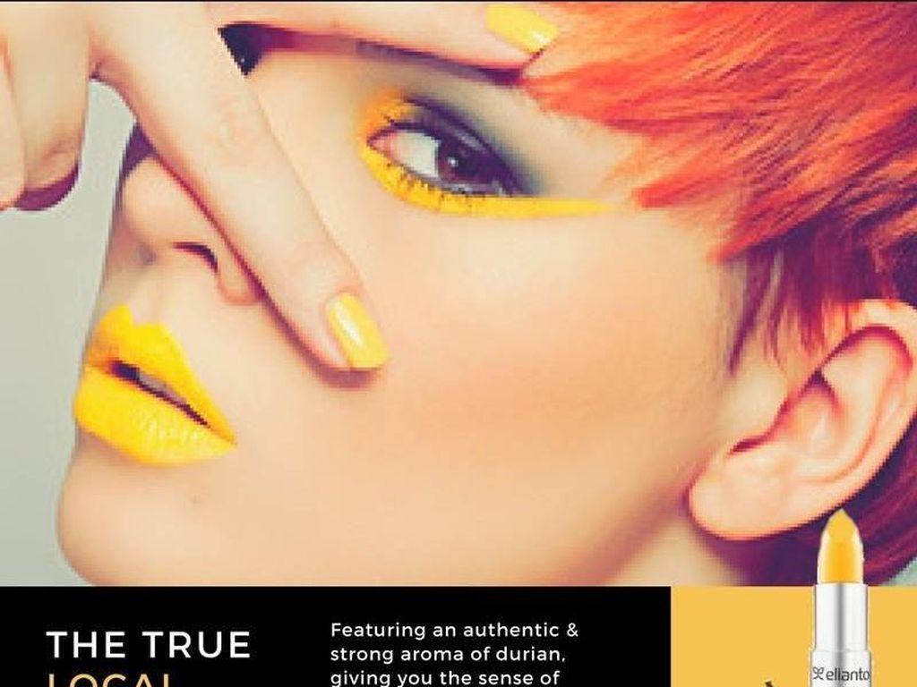 Lipstik Warna Kuning Ini Hadir dengan Rasa Durian, Mau Coba?