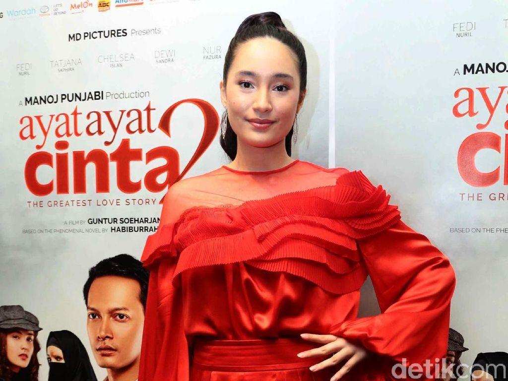 Tatjana Saphira Perankan Karakter Ceria di Film Ayat-ayat Cinta 2