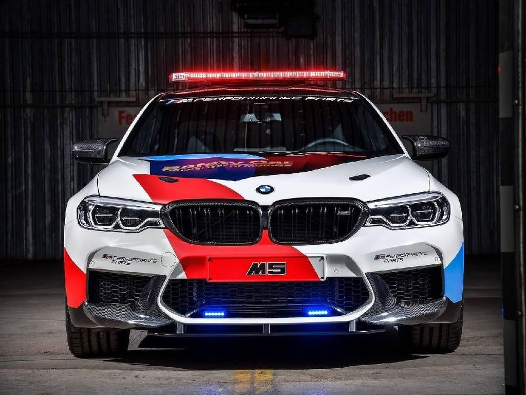 BMW M5, Safety Car di Balapan MotoGP