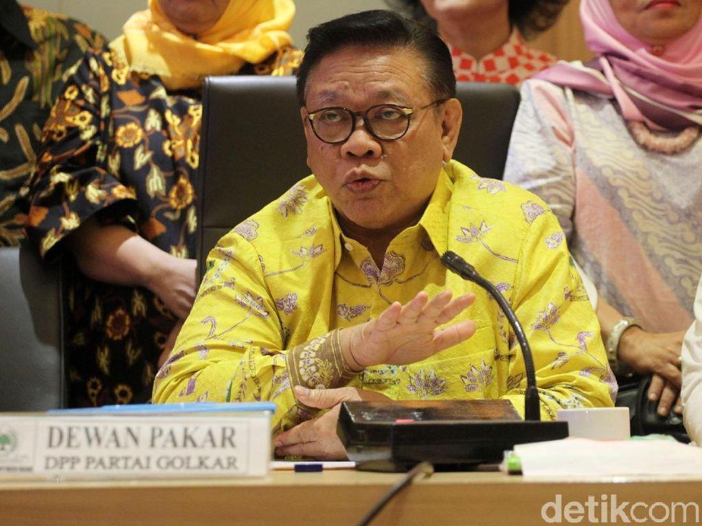 Agung Laksono: Kami Desak DPP Golkar Tak Halangi Munaslub!