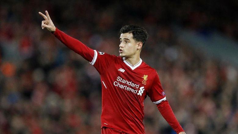 Liverpool Disebut Gila jika Lepas Coutinho Saat Ini Juga