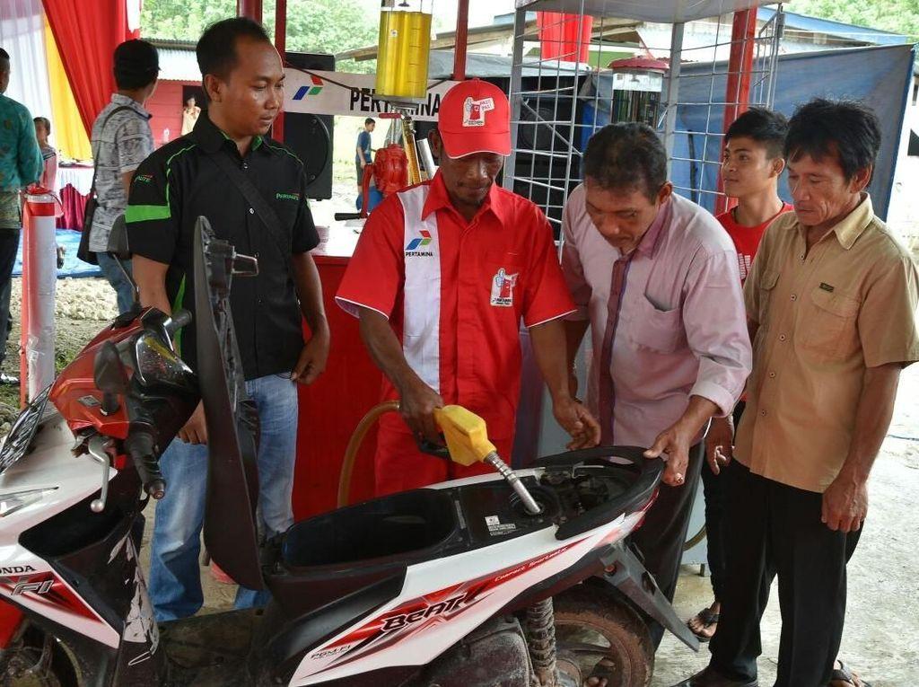 Ada BBM Satu Harga, Warga Pulau Enggano: Terima Kasih Pak Jokowi