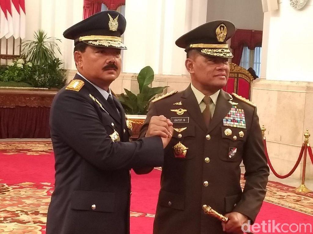 Besok, Jenderal Gatot Serahkan Kunci Rumah Dinas ke Marsekal Hadi