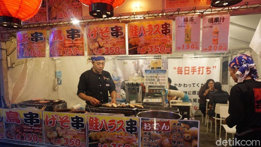 Foto: Wisata Kuliner Malam di Osaka, Ini yang Enak-enak!