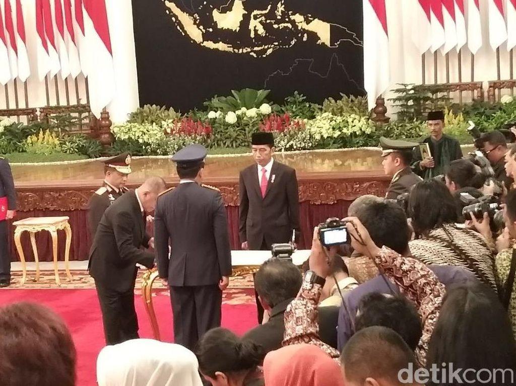 Menhan-Kapolri Jadi Saksi Pelantikan Panglima TNI Marsekal Hadi