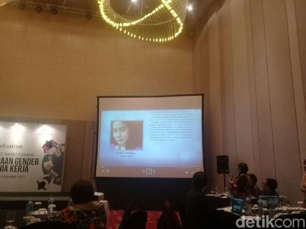 Jurnalis detikcom Raih Penghargaan Liputan Kesetaraan Gender