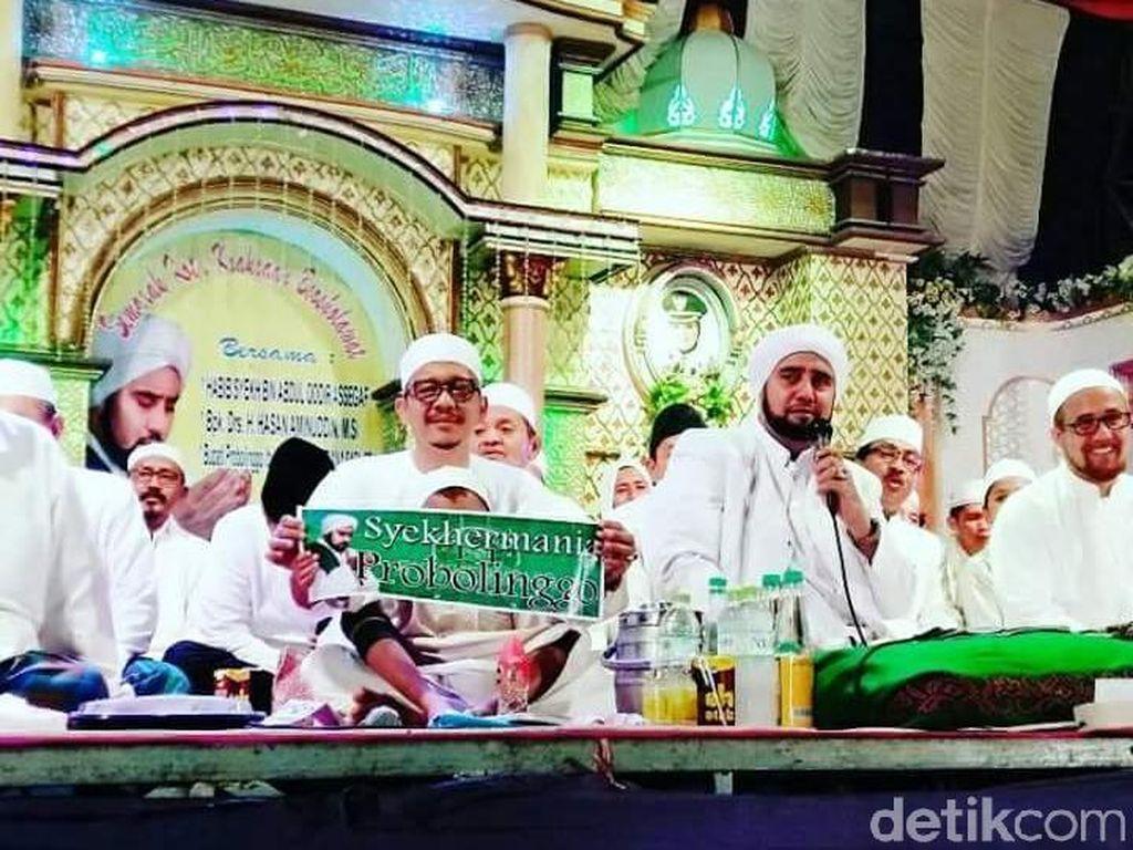 Kota Kraksaan Bersholawat Ajak Warga Bersatu Jaga NKRI