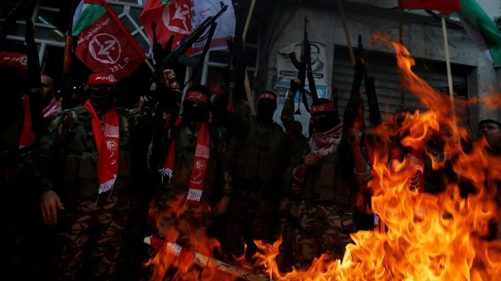 Foto: Gaza Bergejolak