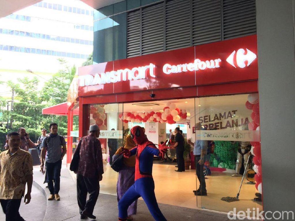 Transmart Pasaraya Blok M Resmi Dibuka, Ini Daftar Promonya