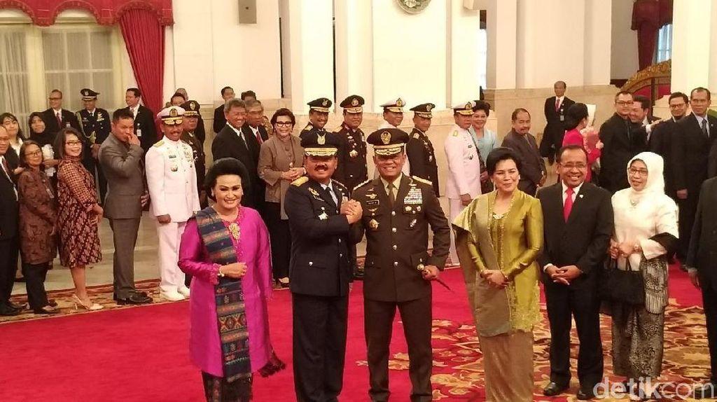 Komando! Salam dan Hormat Jenderal Gatot dan Panglima TNI Marsekal Hadi