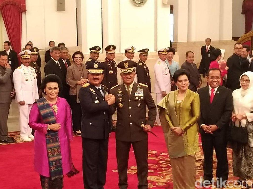 Marsekal Hadi Tjahjanto Resmi Menjabat Panglima TNI