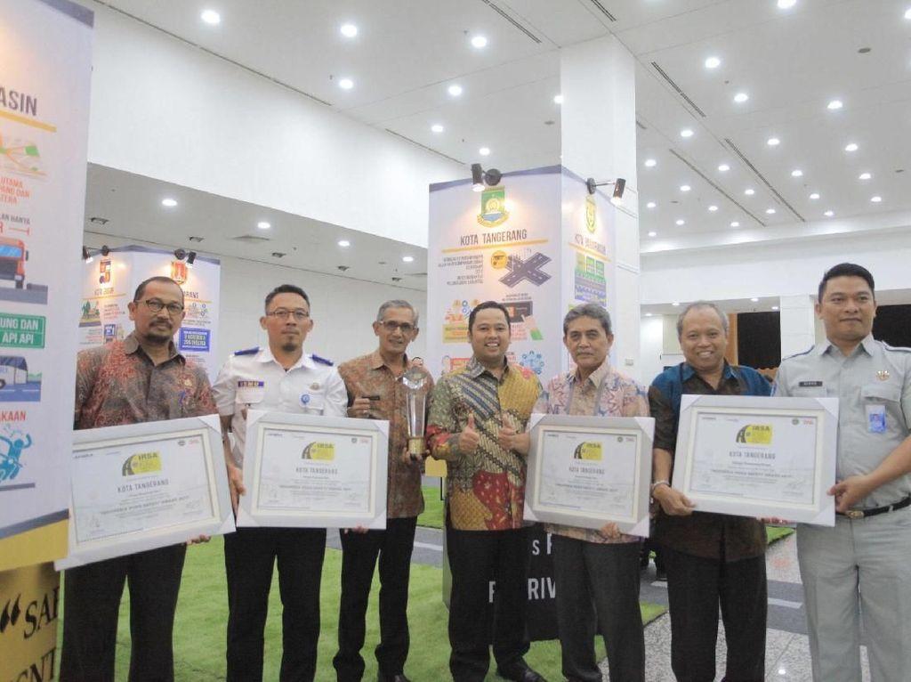 Angka Kecelakaan Turun, Kota Tangerang Raih Penghargaan IRSA 2017