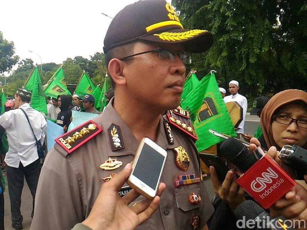 Polres Jakpus Larang SOTR di Monas dan Bundaran HI