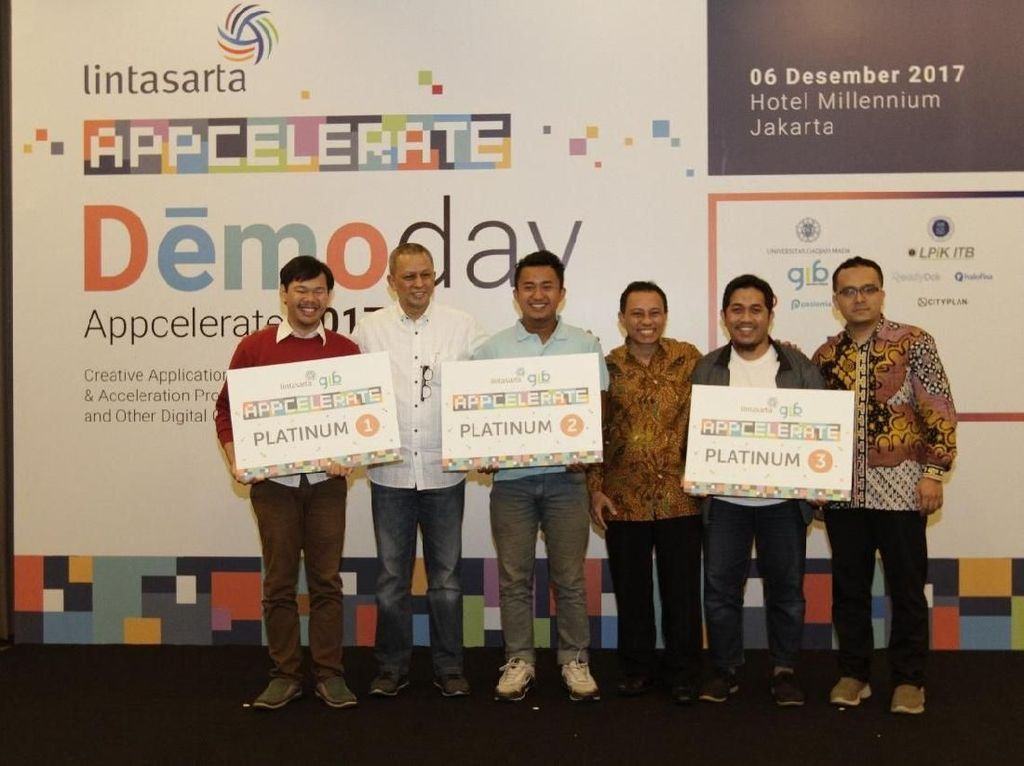 8 Startup Jadi Jawara di Lintasarta Appcelerate 2017