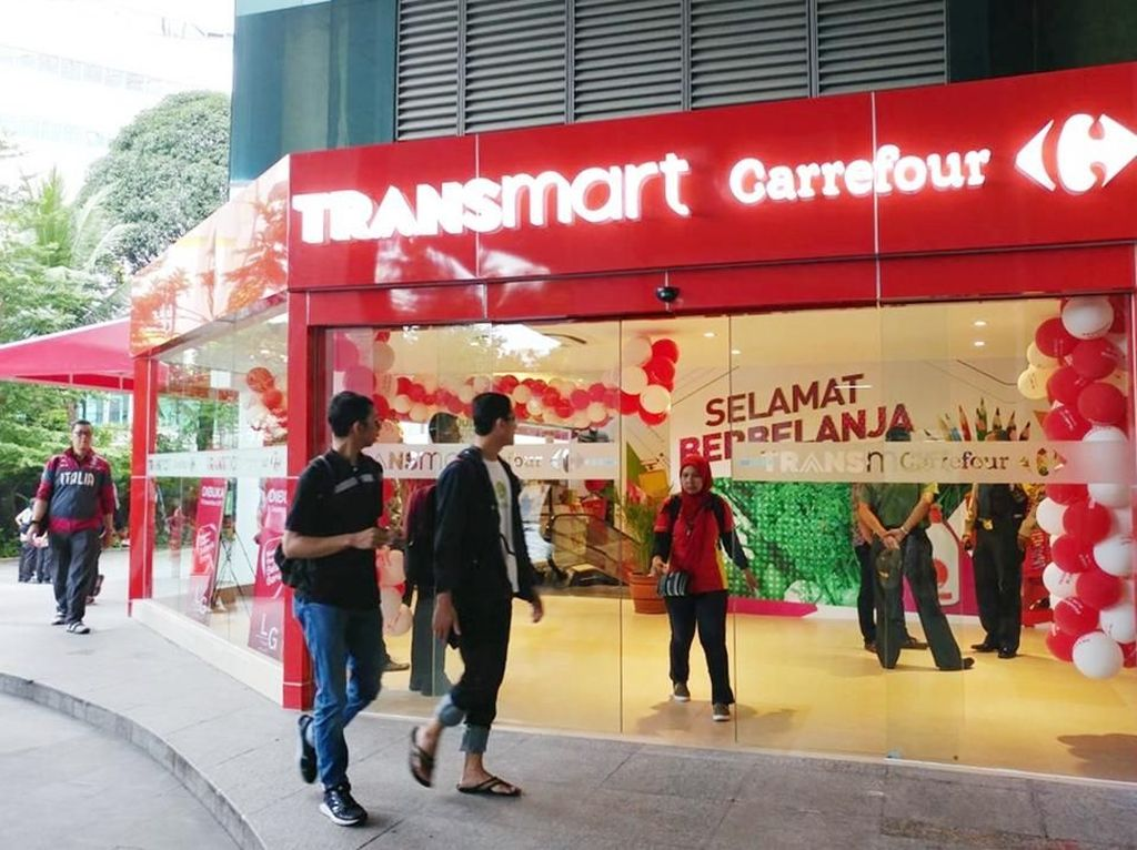 Transmart Carrefour Pasaraya Blok M & Telogorejo Dibuka Serentak