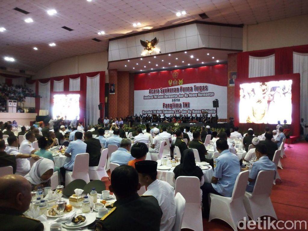 Jadi Panglima TNI, Doa Marsekal Hadi Saat Perankan Gatotkaca