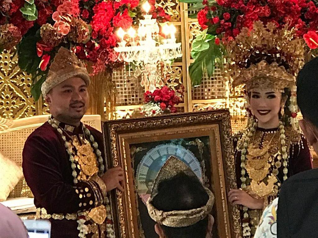 Selamat! Afif Kalla dan Tistha Nurma Resmi Menikah