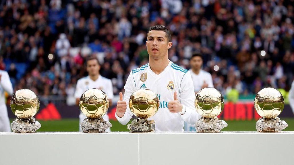 Ronaldo Pamer Lima Ballon dOr, Madrid Pesta Lima Gol