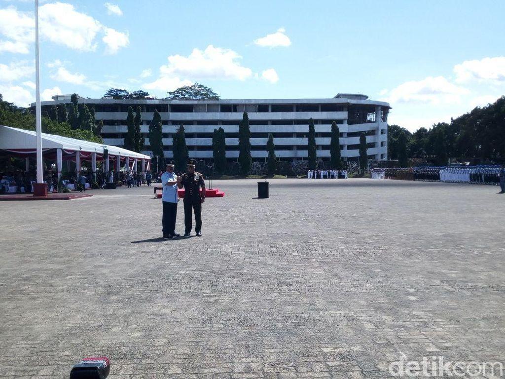 Foto: Suasana Sertijab Panglima TNI Marsekal Hadi Tjahjanto