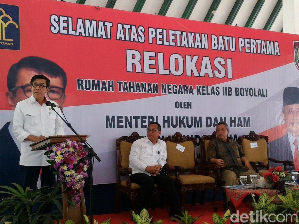 Over Kapasitas Penghuni LP dan Rutan di Indonesia Capai 600 Persen
