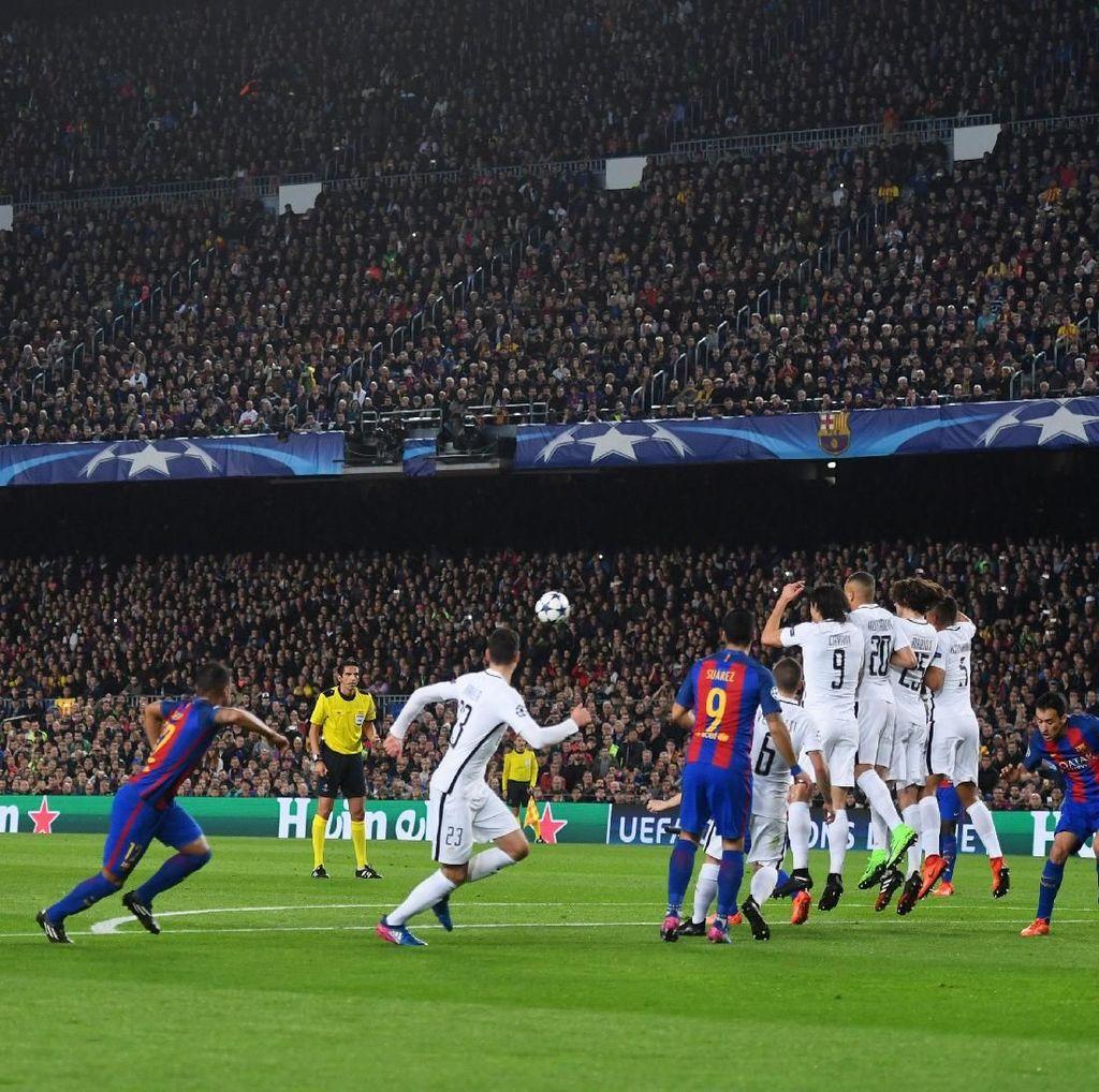 Conte Tunjuk Barca dan PSG sebagai Favorit Juara