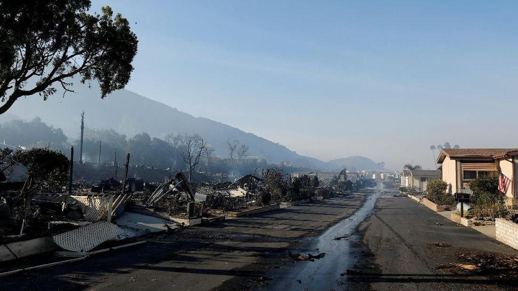 Saat Warga California Lihat Langsung Dampak Kebakaran