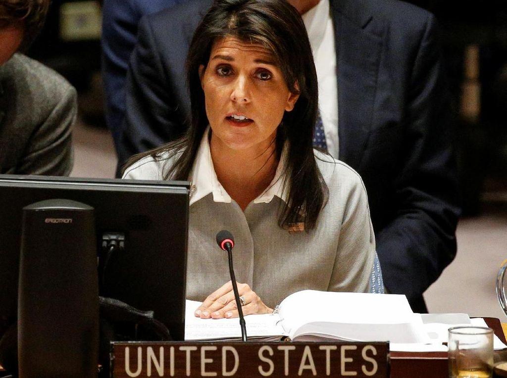 Trump Tunjuk Dubes AS untuk PBB Pengganti Haley Pekan Ini