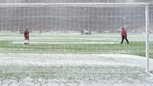 Potensi Gangguan Salju di Derby Merseyside dan Derby Manchester