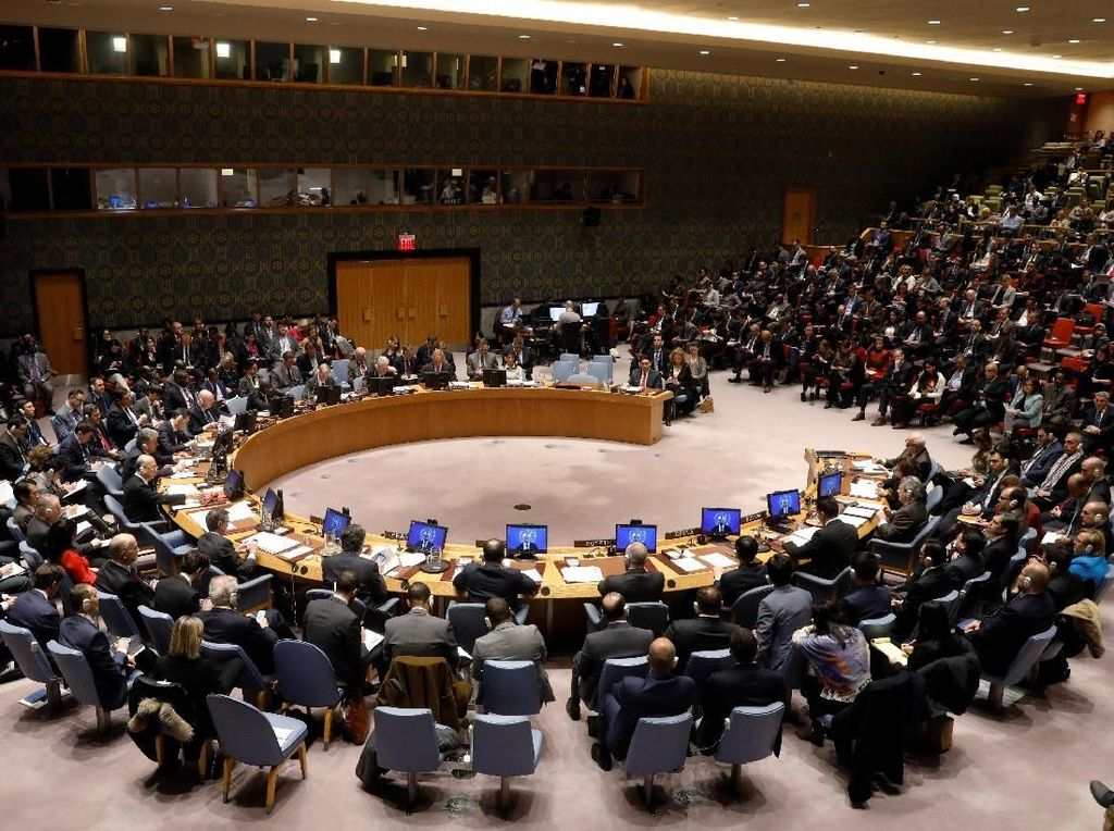 Foto: AS Dihujani Kritikan Saat Sidang Darurat DK PBB Bahas Yerusalem