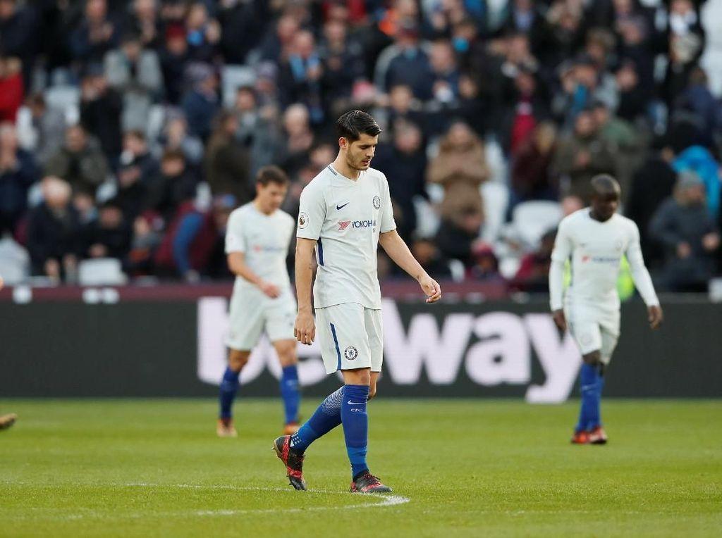 Chelsea Takluk 0-1 dari West Ham