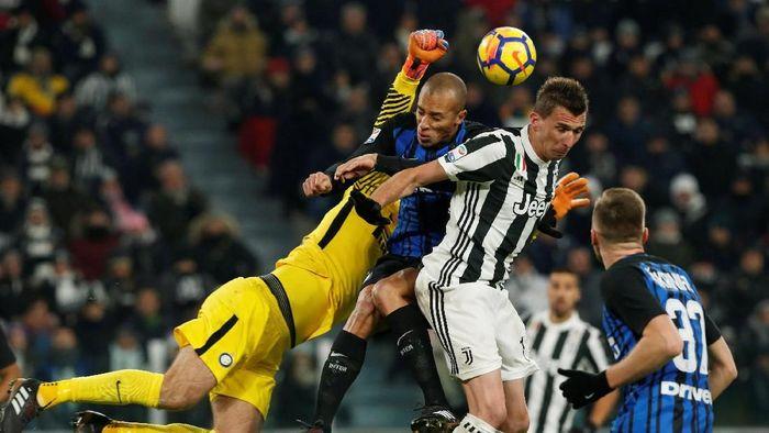 Inter Milan akan menjamu Juventus di Liga Italia akhir pekan ini (Foto: Stefano Rellandini/REUTERS)