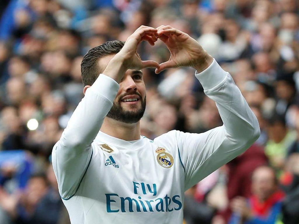 Madrid Benar-benar Dominan di Babak Pertama