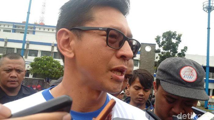 Direktut PT Persib Bandung Bermartabat, Teddy Tjahyono (M. Solehudin/detikSport)