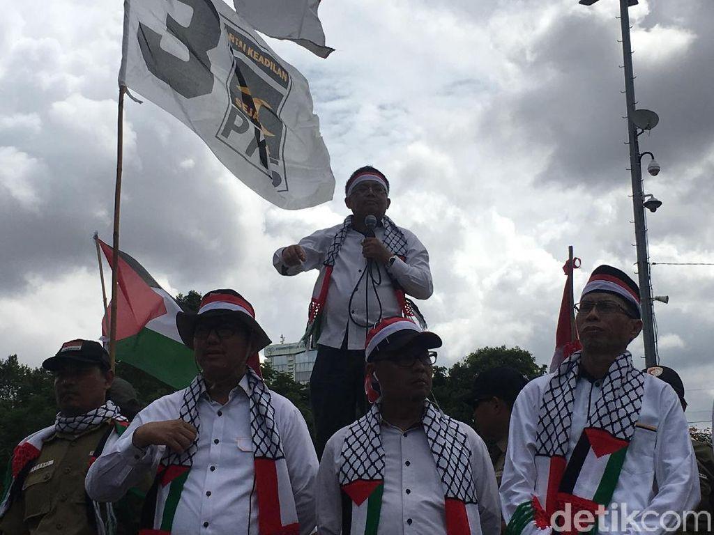Sohibul: Ada yang Nyinyir Soal PKS Gelar Aksi Bela Palestina
