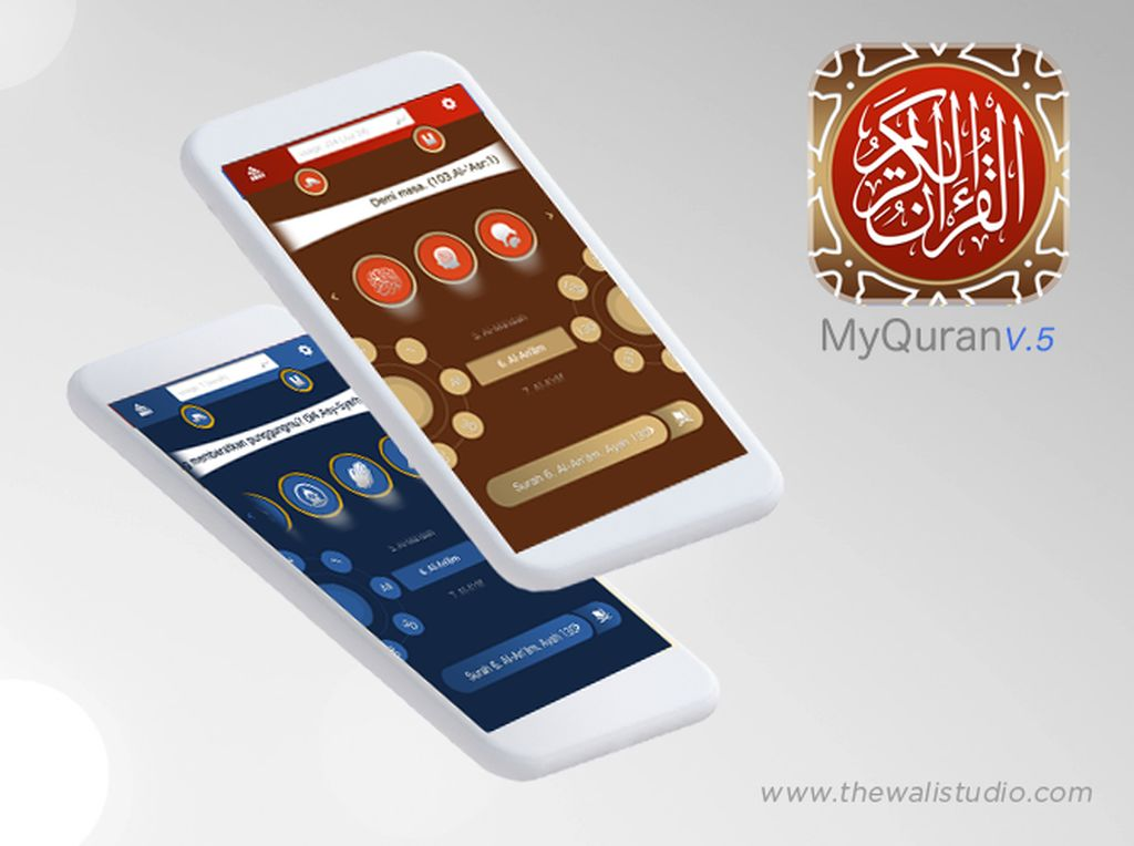 Aplikasi MyQuran V.5: Baca Quran Makin Nyaman